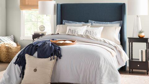 Mercury Row Alrai Upholstered Low Profile Standard Bed