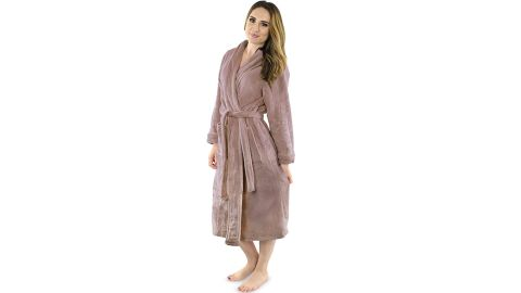 NY Threads Women's Fleece Robe