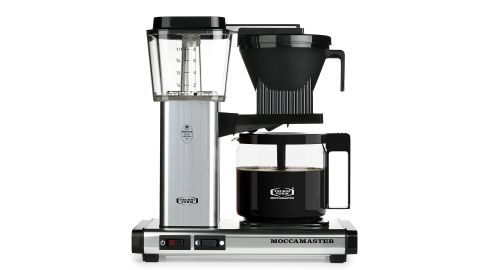 Technivorm Moccamaster 40-Ounce Coffee Brewer in Polished Silver
