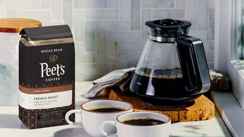 Peet's Coffee French Roast Dark Roast Whole Bean Coffee, 20-Ounce