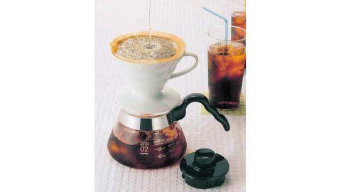 Hario V60 Ceramic Coffee Dripper in White