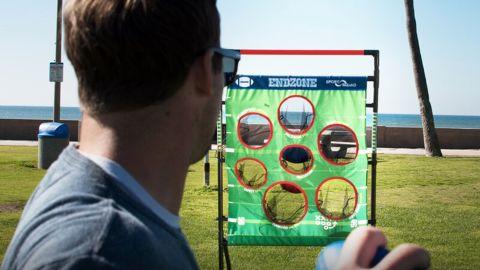 Sportsquad Portable Lawn Games Net