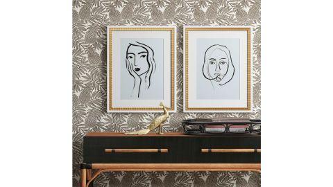 Opalhouse Line Drawing Wall Print