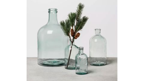 Hearth & Hand With Magnolia Clear Glass Vase