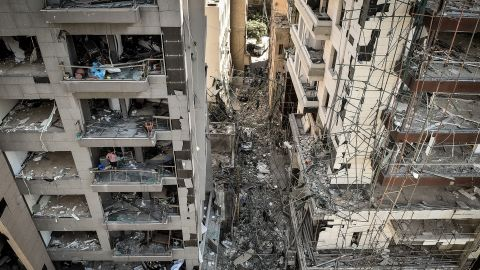 """Beirut was declared a """"disaster city"""" by authorities after the explosion."""