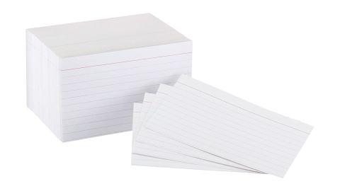AmazonBasics Heavyweight Ruled Index Cards, 300 count