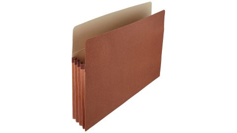 AmazonBasics Expanding Accordion Organizer File Folders, 25-Pack