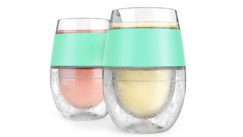 Host Wine Freeze Cooling Cups, Set of 2