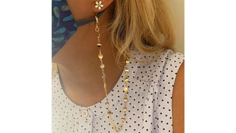 Cheleaccesorios Face Mask Chain