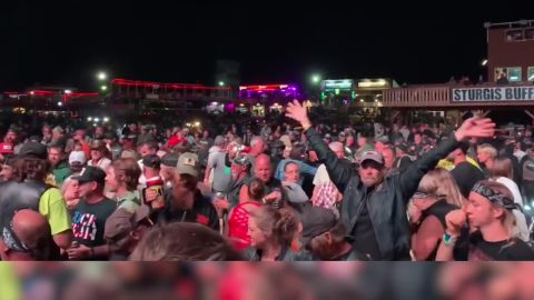 Smash Mouth at rally in Sturgis