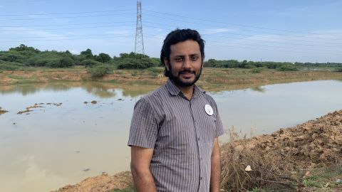 Arun Krishnamurthy is the founder of the Environmentalist Foundation of India, a nonprofit organization working to restore freshwater lakes and ponds.
