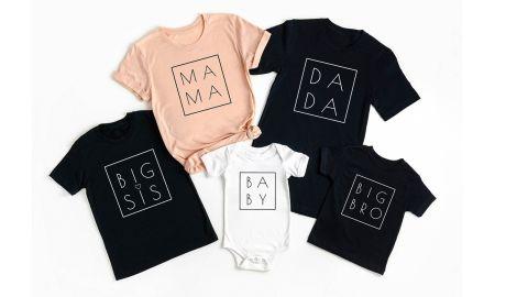 NewVisionDesignUS Family Matching Shirts