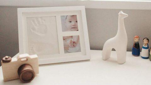 Bubzi Co Baby Footprint and Handprint Kit