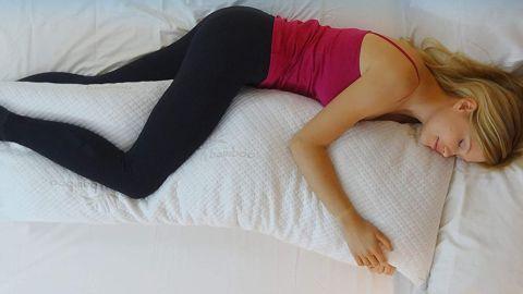 Snuggle-Pedic Bamboo Shredded Memory Foam Body Pillow