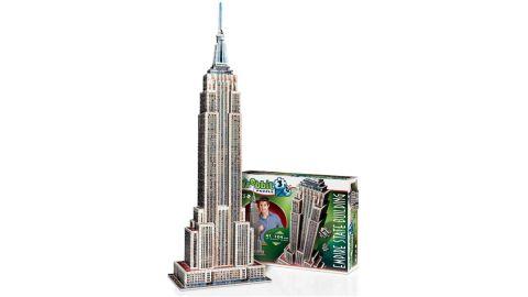 Wrebbit Empire State Building 975-Piece 3D Jigsaw Puzzle