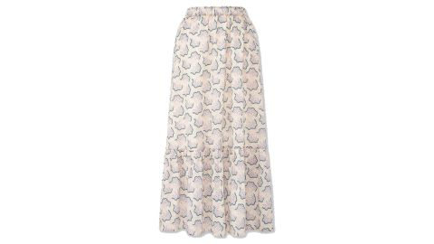 Anna Sui Tiered Long Skirt