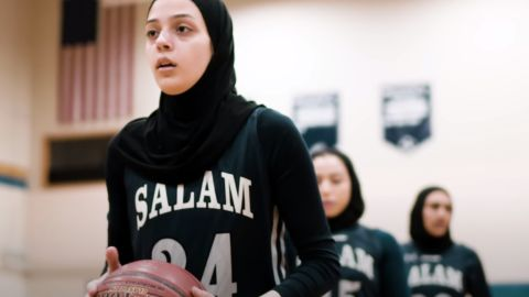 For the Salam Stars, basketball is about more than just the score. The all-Muslim girls team are breaking stereotypes and crushing it on the court.