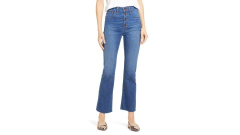 Madewell Cali High-Waist Demi Boot Jeans
