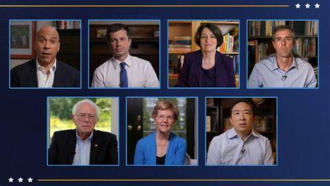 former candidates DNC 2020 08202020