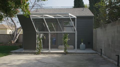 A United Dwelling apartment created form an old garage