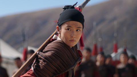 Yifei Liu in 'Mulan.'