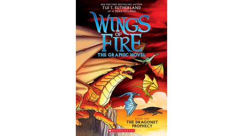 'Wings of Fire: The Dragonet Prophecy' by Tui T. Sutherland & Mike Holmes
