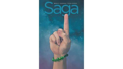 'Saga' Compendium One by Brian K. Vaughan & Fiona Staples