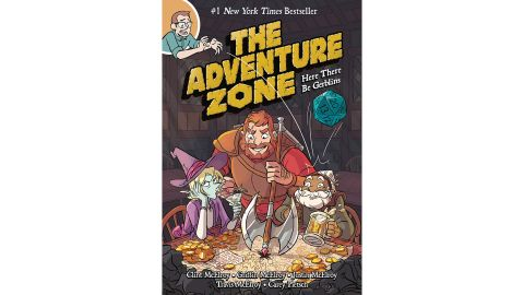 'The Adventure Zone: Here There Be Gerblins' by Clint McElroy, Griffin McElroy, Justin McElroy, Travis McElroy & Carey Pietsch