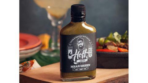 Mean Green — Hoff's Green Jalapeño Hot Sauce