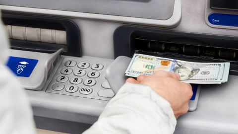 If you use a non-network ATM, you'll likely be charged a fee when you get cash.