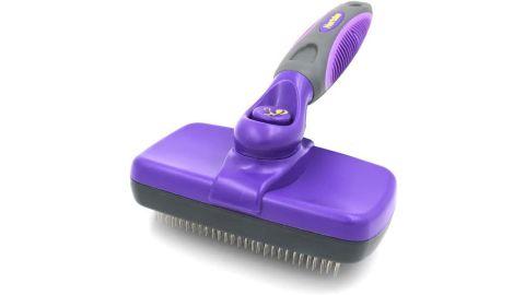 Hertzko Self-Cleaning Slicker Grooming Brush