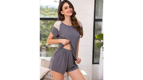 Avidlove Women's Pajama Set Short Sleeve Sleepwear