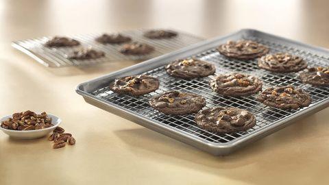 USA Pan Half Sheet Baking Pan and Nonstick Cooling Rack