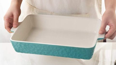 Krokori Ceramic 9-by-13-Inch Baking Pan