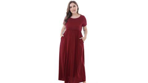 Nemidor Plus Size Long Maxi Dress