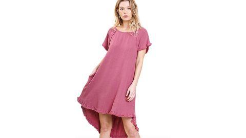 Umgee Lovable High Low Dress