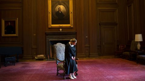 In August 2013, Ginsburg celebrated her 20th anniversary on the Supreme Court.