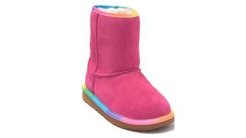 Rainbow Genuine Shearling Lined Boot