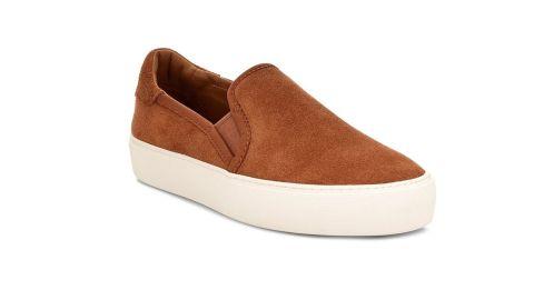 Jass Suede Platform Slip-On Sneaker