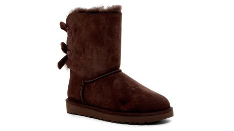 Bailey Twinface Genuine Shearling & Bow Corduroy Boot