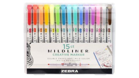 Zebra Mildliner Pen, Double Ended Highlighter