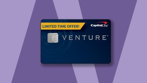 If you're going to get the Capital One Venture card, you can get it right now with a 60,000-mile bonus.