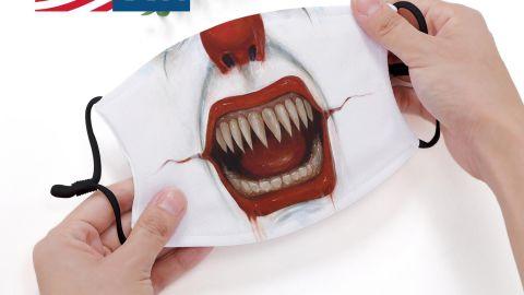 CaseRocket Scary Clown Face Mask
