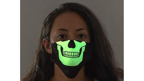 Costume Agent Glow-in-the-Dark Skeleton Mask