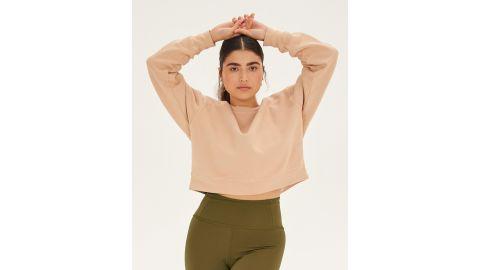 Forest Cropped Sweatshirt