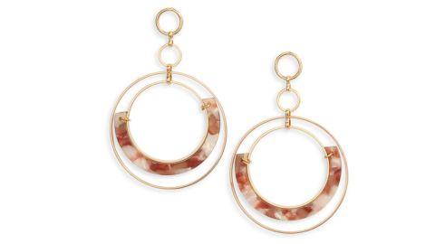 Ettika Wire Hoop Earrings