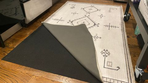Ruggable's rug cover and rug pad