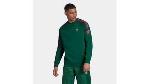 Adicolor 3D Trefoil 3-Stripes Crewneck Sweaters