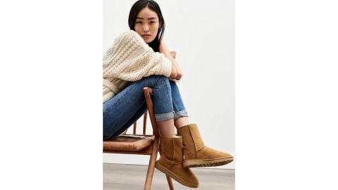 Ugg Classic II Genuine Shearling-Lined Short Boot