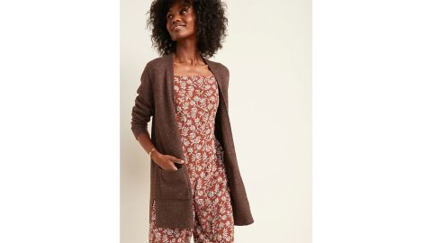 Old Navy Cozy Long-Line Open-Front Sweater for Women